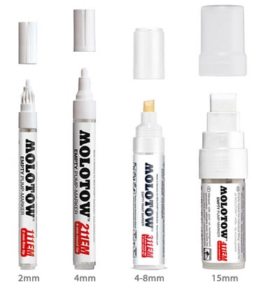 MOLOTOW tomme markere